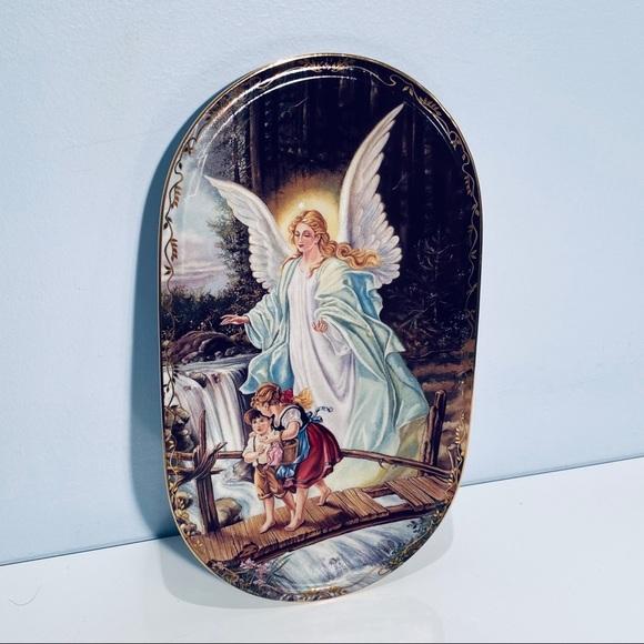 Annaburg German Angel Plate Bradford Exchange
